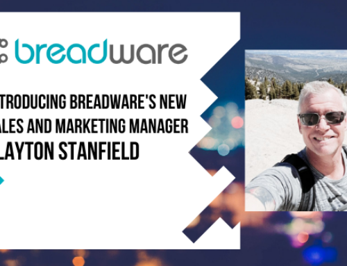 Introducing Breadware's new Sales and Marketing Manager, Clayton Stanfield!